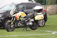 Blood bikes were out in force. A worthy charity saving lives and supported by our Club.